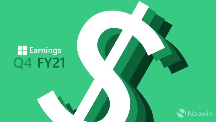 Microsoft Earnings Q4 FY 2021