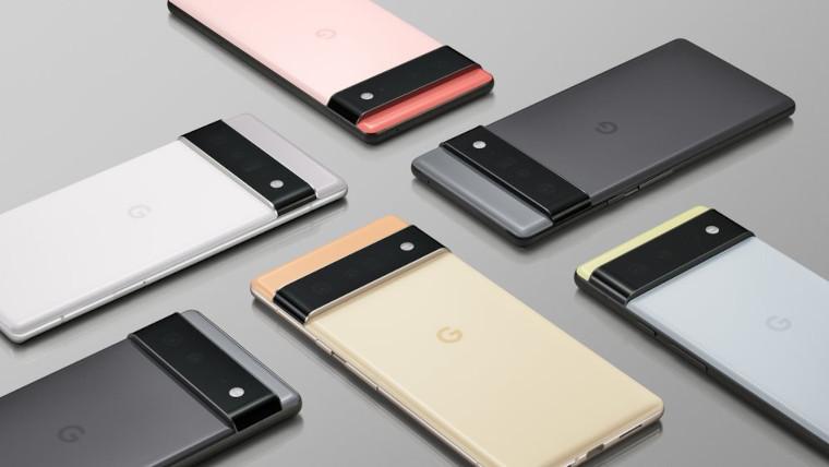 The Google Pixel 6