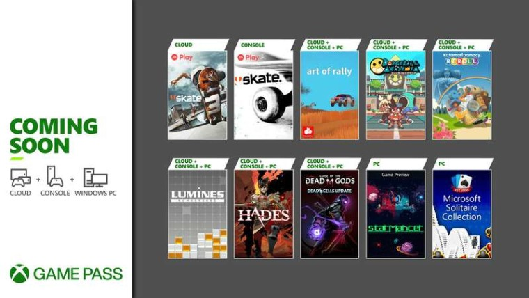Xbox Game Pass August wave one