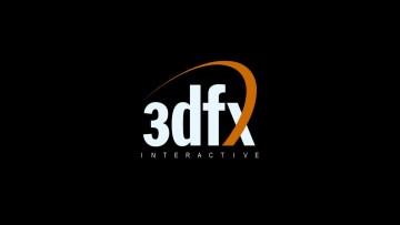 3dfx Interactive logo on black background