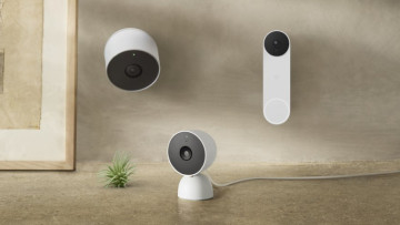 Google nest wireless cam and doorbell