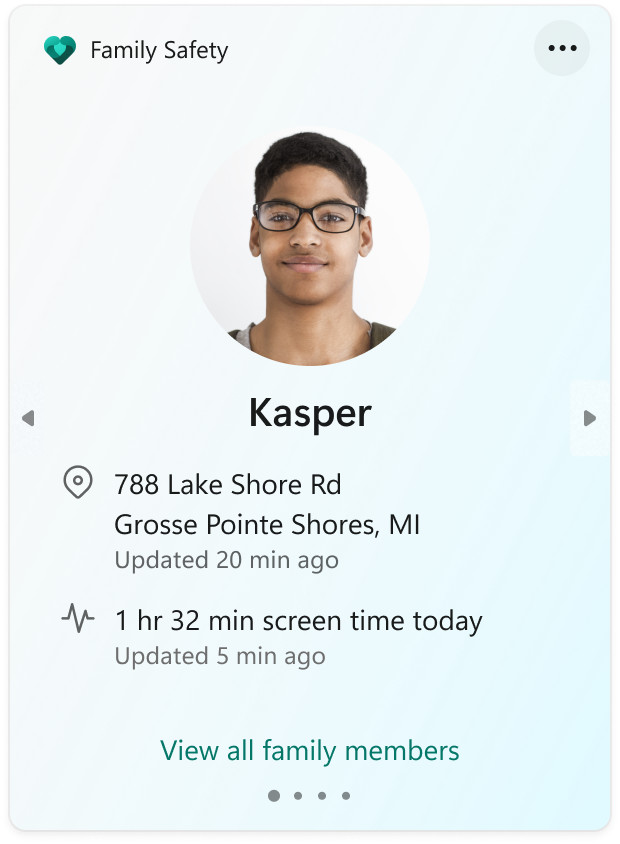 A ID card like image showing a dark skinned male with his address and name below it