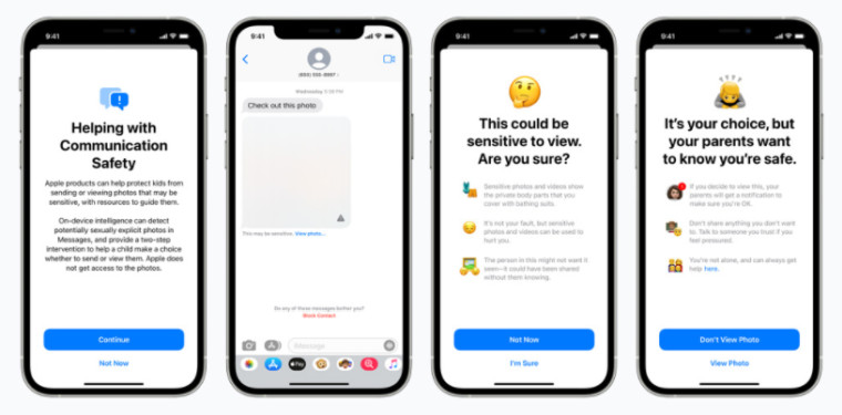 Apple child safety feature
