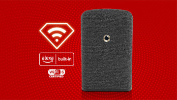 The Alexa-capable WiFi booster from Vodafone