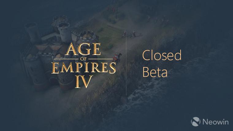 Age of Empires IV - closed beta