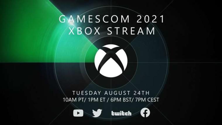 gamescom 2021 Xbox show schedule