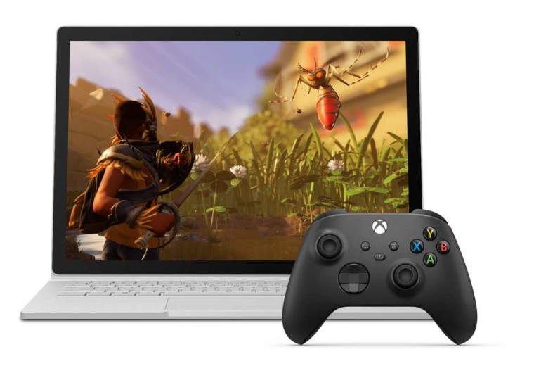 Xbox Cloud Gaming promo featuring Grounded