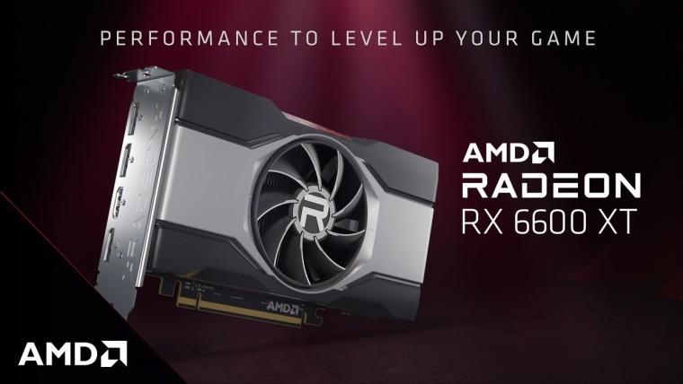 AMD RX 6600 XT promotional image