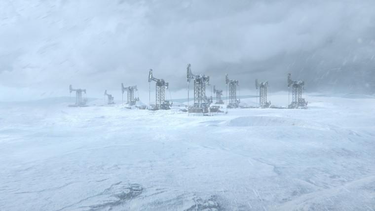 Frostpunk 2 cinematic shots