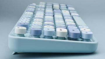 Grenf sweet series keyboard blue