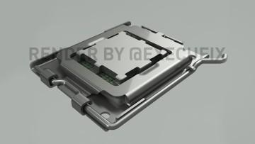 AMD Socket AM5 render
