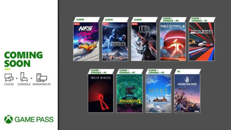 Xbox Game Pass August Wave 2 games