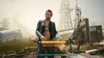Johnny Silverhand alternate look DLC
