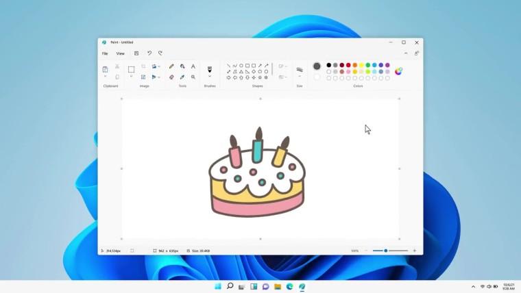 Microsoft Paint app