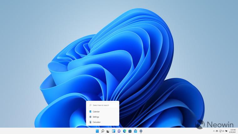 Windows 11 Search hints