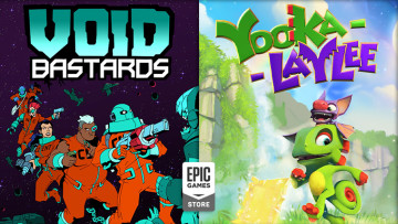 Epic Games Store free games Yooka-Laylee and Void Bastards