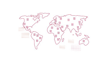 The world under a massive DDoS attack