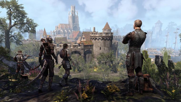 Elder Scrolls Online promotional screen