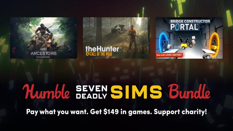 Humble Seven Deadly Sims Bundle promo