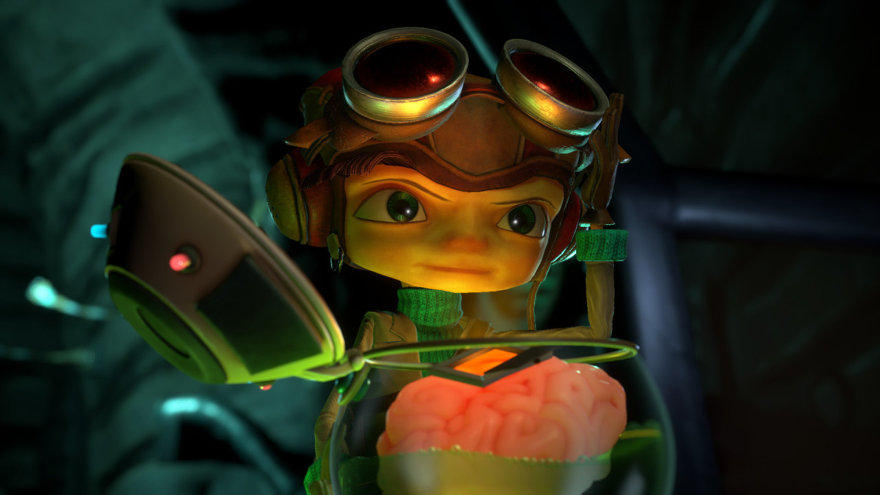 These are screenshots from Psychonauts 2