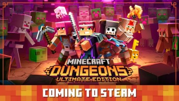 Minecraft Dungeons coming to Steam