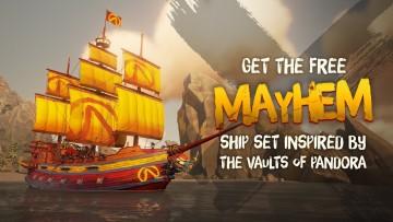 Sea of Thieves Mayhem set