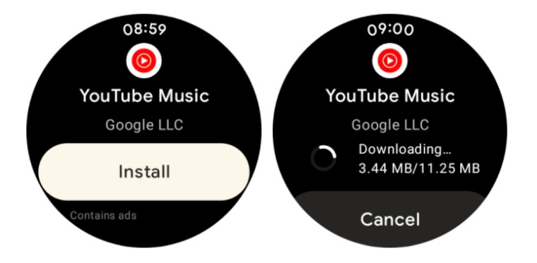 YouTube Music on Galaxy Watch4