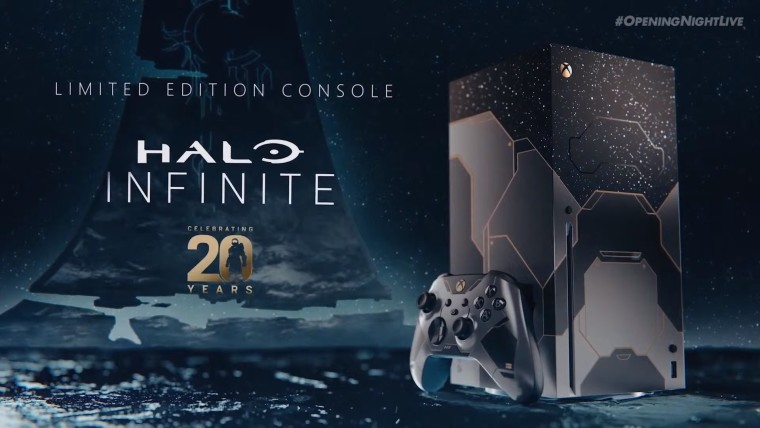 This is an image of the Halo Infinite Xbox Series X