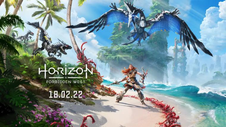Horizon Forbidden West promotional art