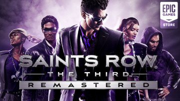Saints Row the Third remastered giveaway on the Epic Games Store