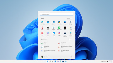 A screenshot of a Windows 11 desktop with Start menu open