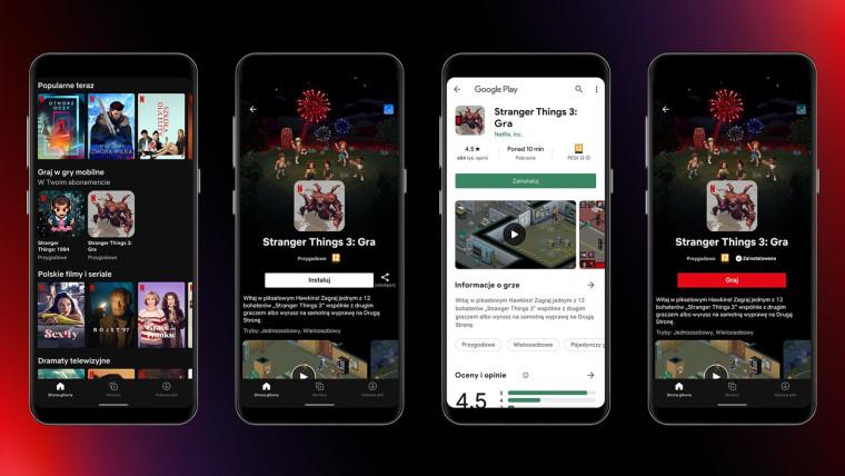 Screenshots showing Netflix&039 new gaming service
