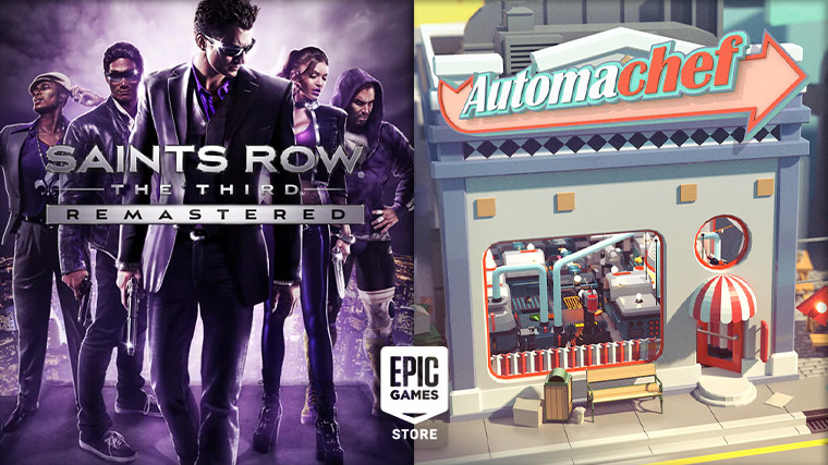 Epic Games Store giveaways Saints Row the Third and Automachef