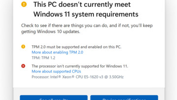 PC Health Check app update