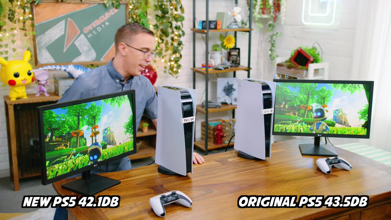 Differenza di rumore tra vecchi e nuovi modelli di PS5