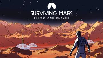 Surviving Mars below and beyond artwork