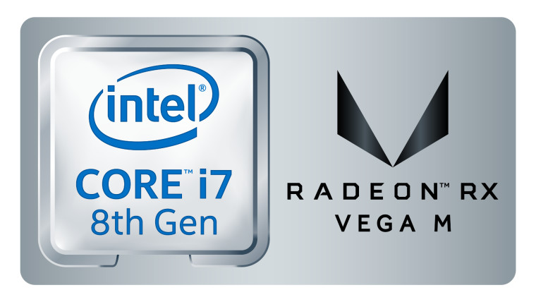Intel Kaby Lake G i7 with RX Vega M render