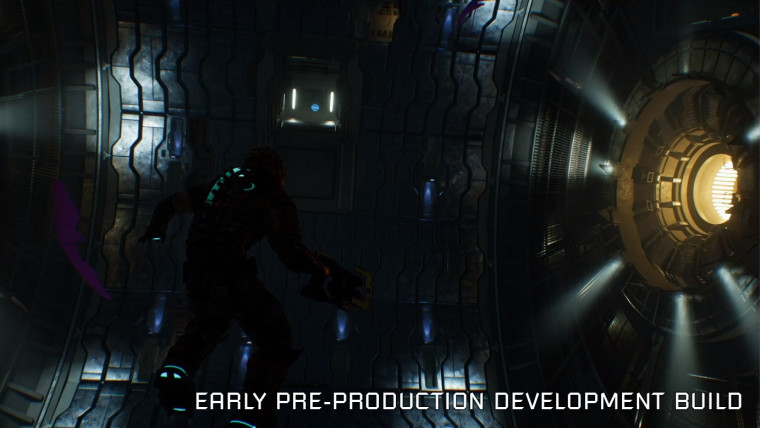 Dead Space remake early engine screenshot