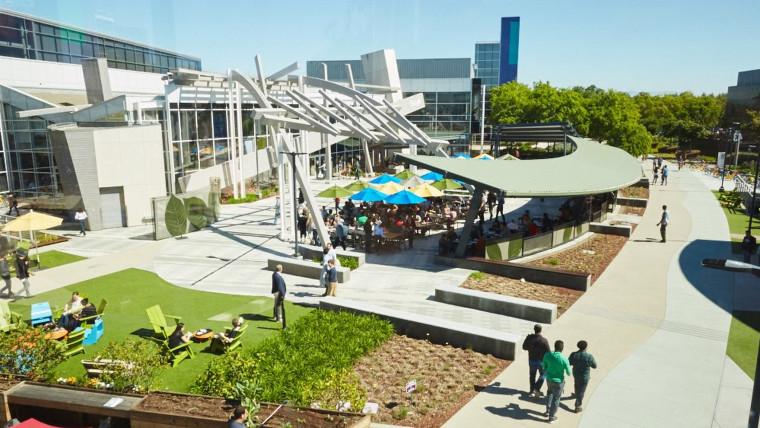 Google campus in Mountain View California
