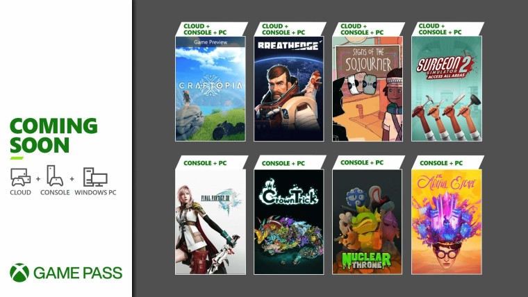 Xbox Game Pass September wave one of games
