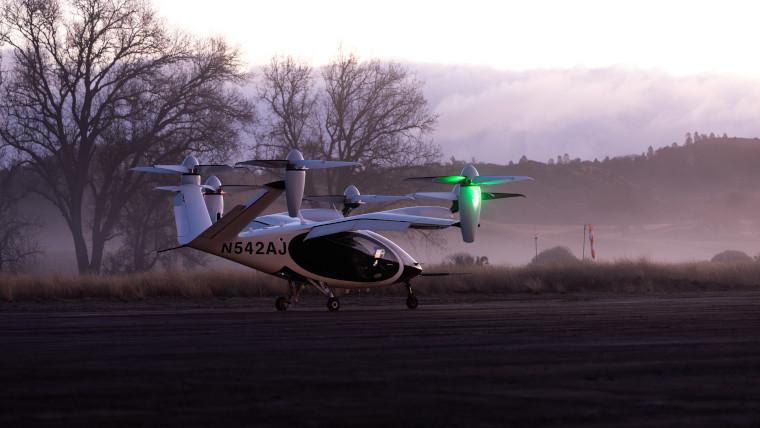 Joby Aviation&039s eVTOL aircraft