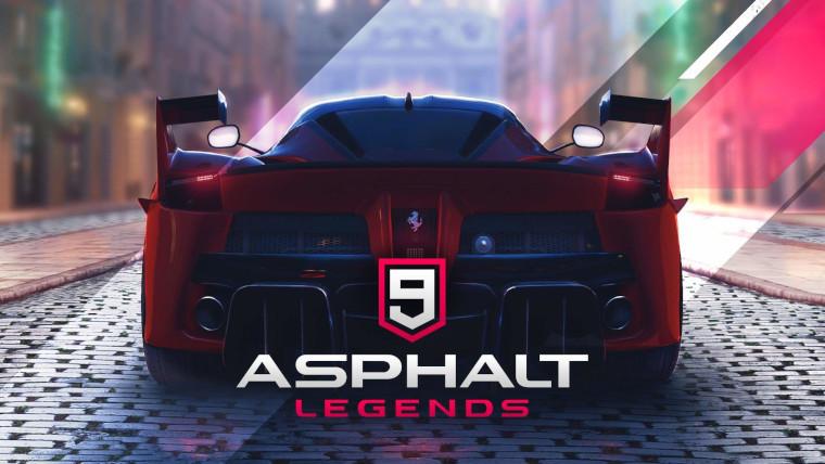 A car from Asphalt 9 Legends