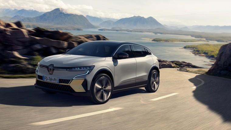 Renault Megane E-Tech Electric car