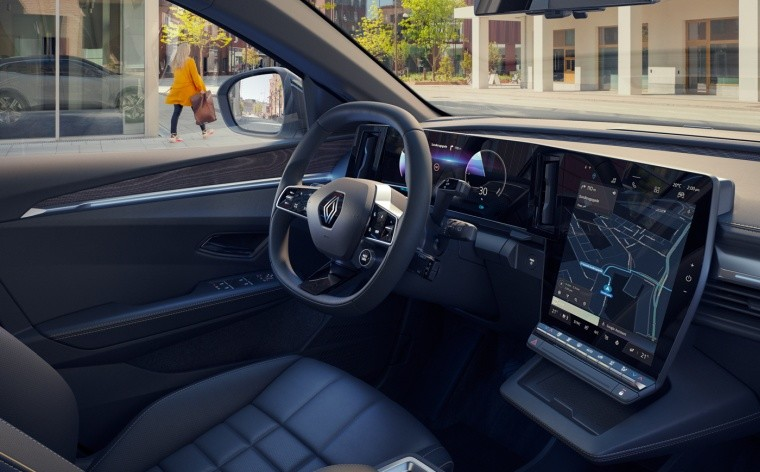 Renault Megane E-Tech Electric dashboard