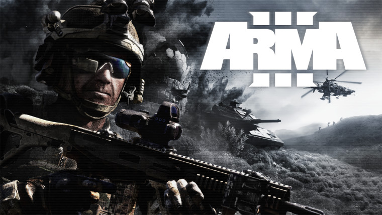 Promotional wallpaper for Arma 3
