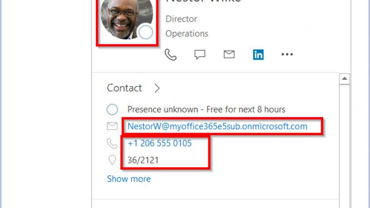 Screenshot of a bug in Microsoft Outlook