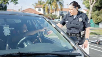 An LAPD officer