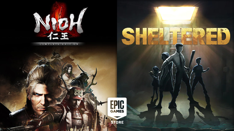 Nioh and Sheltered are free on the Epic Games Store