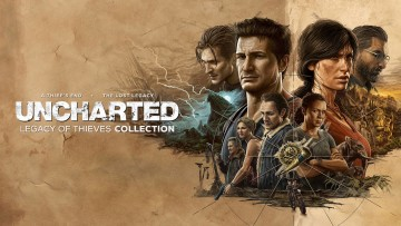 Uncharted Legacy of Thieves Collection artwork