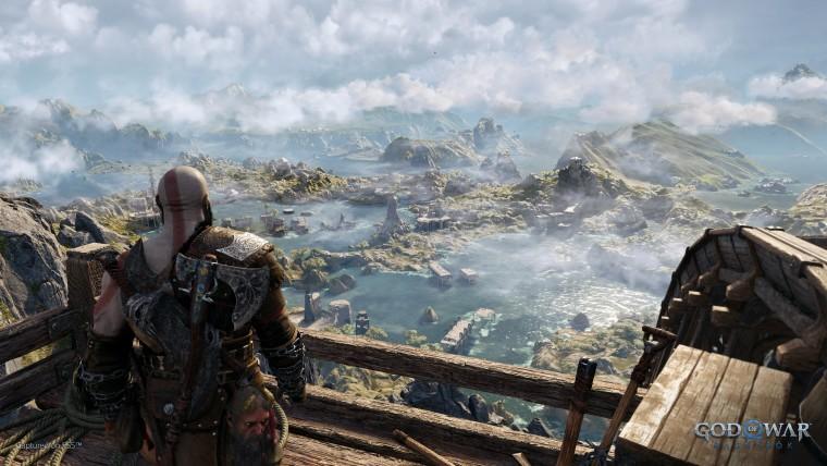 This is a screenshot from God of War Ragnarok